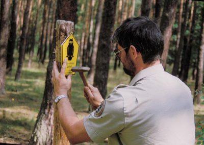 Beschilderung Naturschutzgebiete